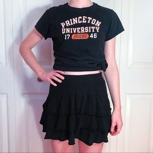 American Eagle Outfitters Black Mini Skirt